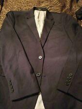 Arrow Men Sport Coat 40S Charcoal Grey