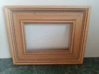 "Beautiful Vintage Solid Wood Picture Frame Photo Holds 4"" × 6"""