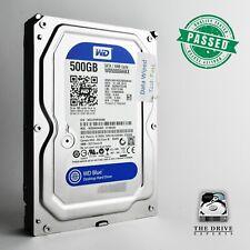 """500GB Western Digital Blue WD5000AAKX-07U6AA0 3.5"""" SATA Internal Hard Drive HDD"""