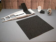 1/24 1/25 Model Car/Truck Detail Material Floor Cover, Trunk Liner, Seat Cushion