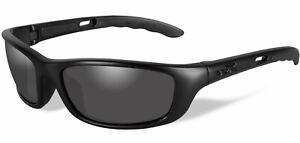 Wiley X P-17M Men's Matte Black Sunglasses w/ Smoke Grey Lens - P-17M