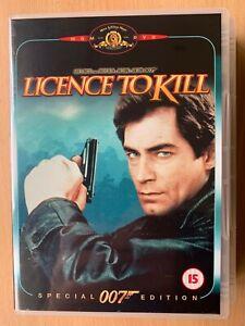 Licence to Kill DVD 1987 James Bond 007 / Timothy Dalton Special Edition