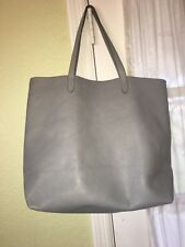NEW MADEWELL TRANSPORT TOTE BAG IN GLASSWARE BLUE GRAY