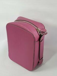 Trish McEvoy Petite Makeup Planner Cosmetic Travel Case Bag Small 2 Ring Binder
