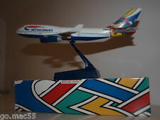 British Airways Celtic Utopia Livery Boeing B747-400 Model 1:250 Scale