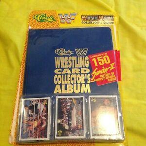 RARE CLASSIC WWF WRESTLING CARD COLLECTORS ALBUM 1990 COMPLETE