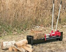 10 Ton Hydraulic Log Splitter Wood Cutter Heavy Duty Firewood Kindling Manual