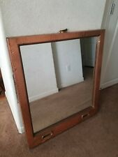 Antique salvage copper window mirror from Manhattan building OLDE GOOD THINGS