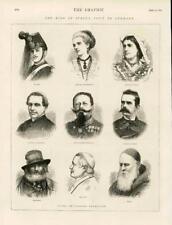 1873-antica stampa Italia Re visita Germania MARGHERITA ANTONELLI emmanue (057)