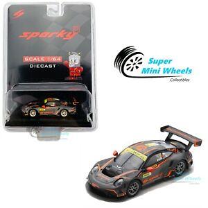 Sparky 1:64 Porsche 911 GT3 R No.911 Absolute Racing FIA GT World Cup Macau 2019