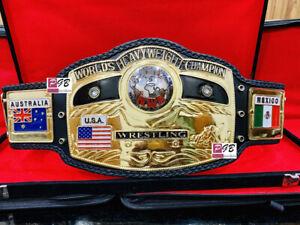 NWA Domed Globe Worlds Heavyweight Wrestling Championship Belt (Replica)