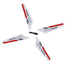 4 x Blades Syma S107 S107G Gyro Remote Control Helicopter Spares Repair RED A4I3