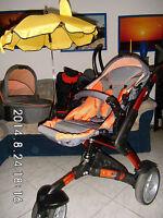 ABC-Design 3-Tec Kinderwagen, Maxi Cosi, Babyschale, Buggy, Wintersack, Sonnensc