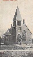Kansas Ks Postcard 1910 HOWARD Baptist Church Building