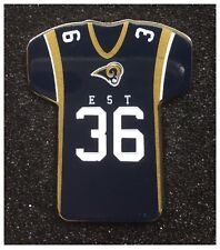 Los Angeles Rams NFL Team American Football Jersey Pin Badge