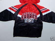 BUFFALO SABRES KID'S HOODED WINTER COAT SIZE 6  NEW/TAG