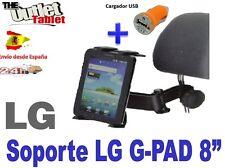 SOPORTE REPOSACABEZAS PARA TABLET LG GPAD 8.3 G PAD