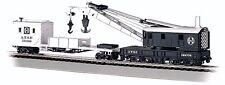 Echelle HO 250-ton Grue voitures & Boom Tender - Santa Fe - Bachmann #16102