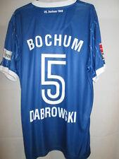 Dabrowski VfL Bochum 2008-2009 Match Worn Home Football Shirt with our COA