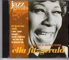 (CA134) Ella Fitzgerald, Sing Me A Swing Song - 1996 Jazz Greats CD No 005