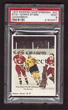 Stig Goran Johansson 1970 Swedish Masterserien Hockey #37 PSA 9 MINT KEN DRYDEN