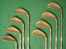 NORTHWESTERN TOM WEISKOPF SPECTRUM 431 STAINLESS 3-PW IRONS - FIRM FLEX STEEL