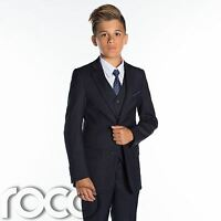 Boys Navy Suits, Page Boys Suits, Boys Wedding Suits, Prom Suits, Slim Fit Suit