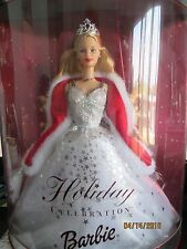 Holiday Celebration Barbie Special 2001 Edition  Mattel Hallmark NIB