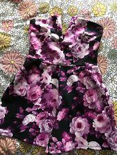 ASOS Floral Bandeau Playsuit With V Plunge - UK Size 8 *BNWT - NEVER WORN*