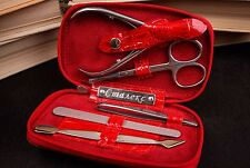STALEKS Manicure Set 5 pcs in Leather Case, made in Ukraine