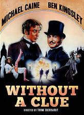 Without a Clue, Good DVD, Caine, Michael, Freeman, Paul, Jones, Jeffrey, Kingsle