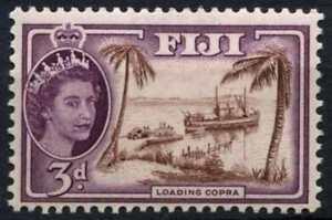 Fiji SG#285, 3d Loading Cupra QEII Definitive MNH #D69712