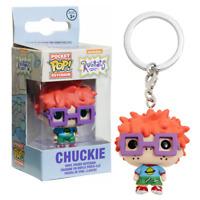 New Rugrats Chuckie Vinyl Figure Pocket Pop Keychain Keyring Funko Official
