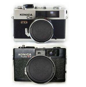 Konica C35 FD and Auto S3 Camera Lens Cap - Protect Your Optics