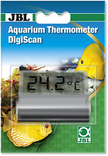 JBL Aquarium Thermometer DigiScan digitales Aquarienscheiben Klebethermometer