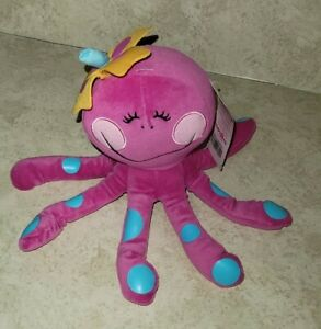 Toys R Us Pink OCTOPUS Plush Animal Alley by Happy House Stuffed Animal