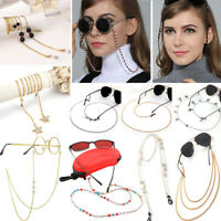 New Eyeglass Glasses Strap Sunglasses Chain Beaded Cord Holder Neck Lanyard Lot