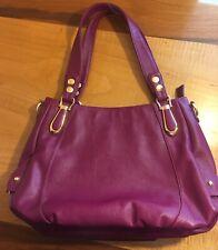 NWT UTO Brand Soft Purple Large PU Leather Handbag Tote Shoulder Purse Hobo Bag