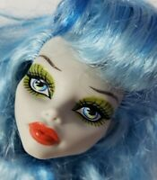 MONSTER HIGH DOLL SKULL SHORES GHOULIA YELPS HEAD ONLY FOR REPLACEMENT OR OOAK