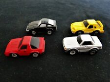 4 FUNRISE Sports Cars: Mercedes Benz & 3 Other Unknown Makes, c1988, Micro Size