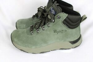 Vasque Mens Green Suede Leather Ankle Boots Sz 9M - NEW