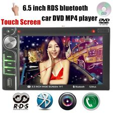6.5'' RDS Car Radio DVD MP4 TV/DVD Function  Subwoofer Bluetooth Head Unit 2 Din