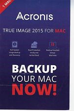 *Brand New Acronis True Image 2015 for Mac 1 Mac 1 Year Backup