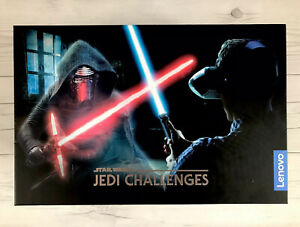 Star Wars Jedi Challenges AR Headset With Lightsaber Controller Black AR-7561N