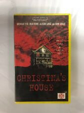 Christina's House Ex-Rental Vintage Big Box VHS Tape English with dutch subs