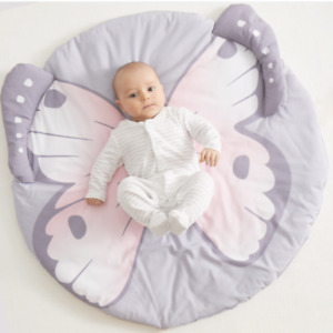Baby/Infant play Mat round - Butterfly