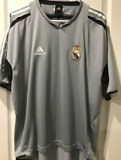 ADIDAS DAVID BECKHAM REAL MADRID TRAINING JERSEY L MENS IN MINT CONDITION.