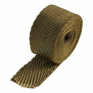 "Heatshield Products Lava Exhaust Insulating Wrap 2"" x 15ft Roll"