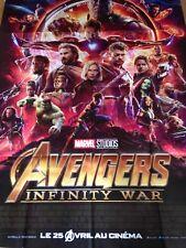 Affiche Neuve 120x160 «Avengers Infinity War»/Marvel