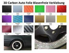 3D Carbon Folie mit Luftkanälen Car Wrapping Auto Folie blasenfreiselbstklebend